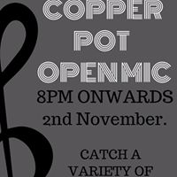 Copper Pot Open Mic