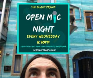 The Black Prince Open Mic Northampton