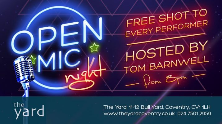 The Yard Open Mic Coventry