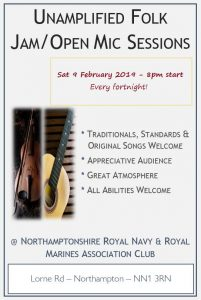 Royal Navy Club open mic / jam